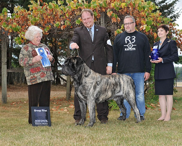 Group First at 2012 Gig Harbor Kennel Club